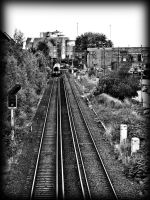 train on the track by awjay