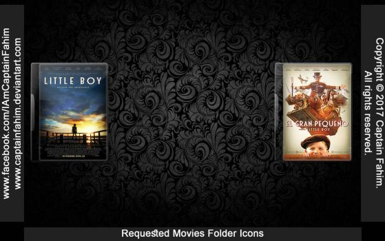 Requested Movies Folder Icons - Code #70000009 by CaptainFahim