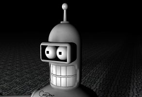 Bender Face by OnEDeMO