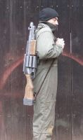 Warhammer40k DKoK Shotgun finished carrying test by ElysianTrooper
