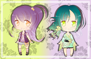 ADOPTABLES (*O*)/ || OPEN: POINTS OR PAYPAL by vleugjesanne