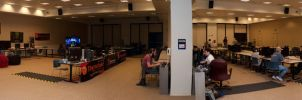 Intel LANFest Panorama by Cadha13