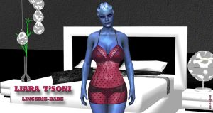 Liara T'Soni    LINGERIE-BABE    12-19-2015 by blw7920