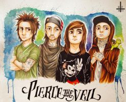 ~ Pierce The Veil ~ by Kagoe