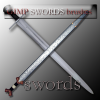 GIMP swords by feniksas4