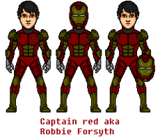 Captain Red phase 2 by Robbie18