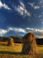 Tatra mountains at sundown 2 by kamzik