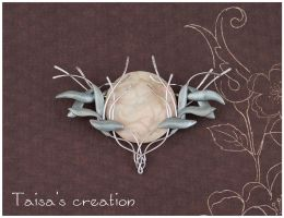 Galadriel's Brooch Replica by Taisa-Winged