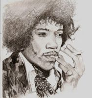 Jimi Hendrix by Proper-goodbye