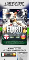 Euro Cup 2012 Flyer Template by yAniv-k
