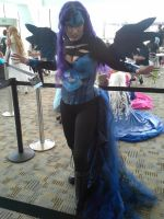 nightmare moon cosplay by HanabiBlackwingDsg