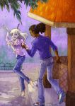 HP_Dancing in the rain by mary-dreams