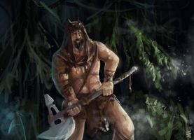 Old Barbarian by Jeffufu