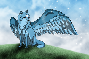 The Winged One by Cylithren