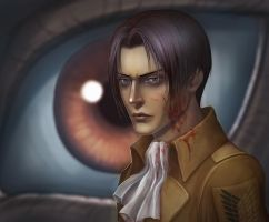 Attack on Titan - Rivaille (aka Levi) by Vrihedd