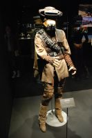 Princess Leia as Boushh Dress by DeRaKMiNe
