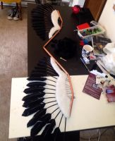 Akuma Homura wings WIP 2 by Deanna-Lee