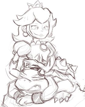 mama peach by ColorsAreAwesome
