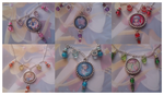 Sailor Moon Necklaces by LiviaAlexandra