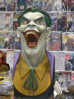 Joker Bust by mjac1971