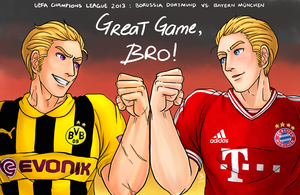 Great Game, Bro! by fellow-traveller