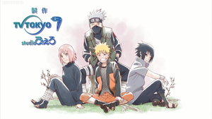 NARUTO SHIPPUDEN SERIES Team 7 by weissdrum