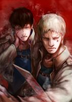 reibert for snk artbook by bakeddeer