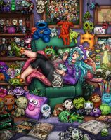 Monster Mash by Harpyqueen