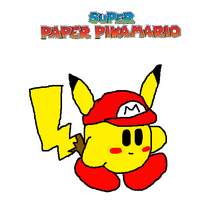 Super Paper PikaMario by Lightning15