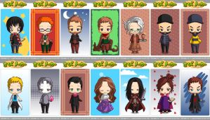 Chibis from Once Upon a Time (2/2) by sorasaku-hermi