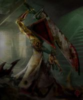 Pyramid Head by Fission07
