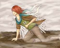Winged Fighter by TheMostUnasianAsian