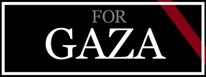 For Gaza - Facebook Cover by Quadraro
