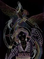 The Sarimanok's Revelation by Lakandiwa