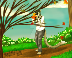 Autumn Leafs -Commission- by xShiro-no-Musumex