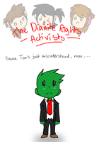 The Dianite Rights Activists by Hokyokkugitsune