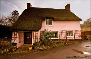 Thatched Cottage by Rebacan