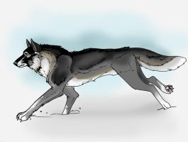 WolfArt-RPG: Lonan by glassie