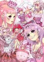 Alice in Pinkland by cherrycheezy
