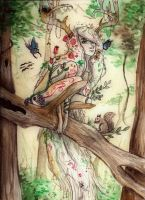 Mother of the Forest by LivingAliveCreator