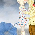 Commission:Pokeshipping_Pouring Rain by Saya-chan98