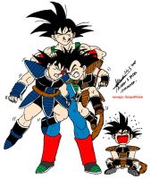 Bardock and Sons 1 by hirokada