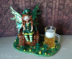 leprechaunette by PoulpinetteCreations