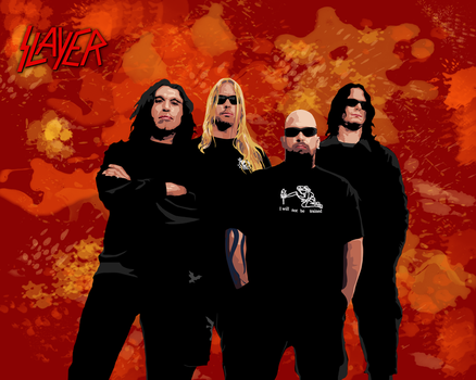 Slayer,  hell version by Almadark