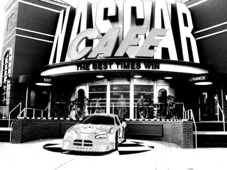Nascar Cafe by IxLoVexNiCk
