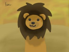 Lion (omg Lili, do you ever draw anything else?) by lionpants99