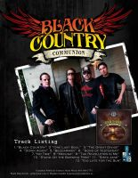 Black Country Communion canada by mvgraphics