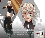 paypal adopt auction [CLOSED] - crowned demon .001 by animadopts
