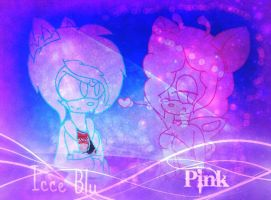 !!Icce Blu And Pink!! by xlightbluesnowflakex