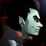 The Sanguine Ghost - RP Blog Icon by BeJuled